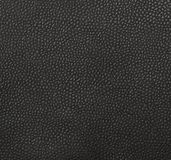 Black leather texture or surface background Royalty Free Stock Image