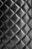 Black leather texture. Black leather upholstery texture with great detail stock image