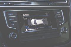Black Led Car Stereo Royalty Free Stock Photos