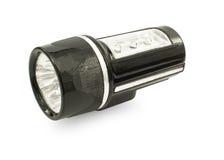 Black LED flashlight Stock Photos