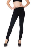 Black leggings in beauty fashion concept Stock Photo