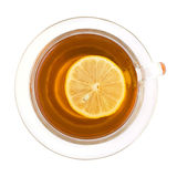 Black lemon tea Royalty Free Stock Photo