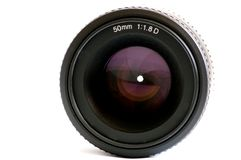 Black lens Stock Image