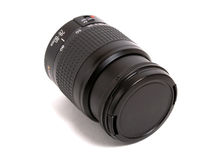 Black lens Royalty Free Stock Image