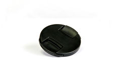 Black lens cap Stock Photos