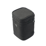 Black lens case bag  Stock Photos