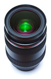 Black lens on white background Royalty Free Stock Photography