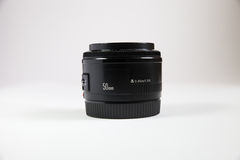 Black lens Stock Image