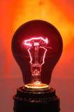 Black Light Bulb Royalty Free Stock Photography
