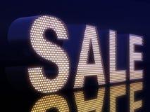 Black-light SALE Stock Photography