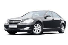 Black limousine Royalty Free Stock Photos