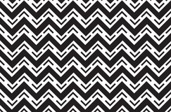 Black line geometric shapes abstract wavy pattern vector background design. For business Royalty Free Stock Photography
