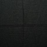 Black linen cloth fragment Stock Photos