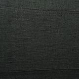 Black linen cloth fragment Stock Photo