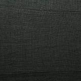 Black linen cloth fragment Stock Photo