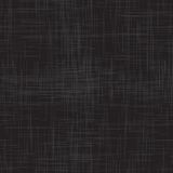 Black linen seamless texture Royalty Free Stock Photos