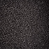Black Linen Texture Stock Image