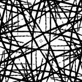 Black lines on a white background abstract background Royalty Free Stock Photo