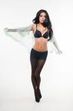 Black lingerie Stock Photography