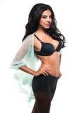 Black lingerie Royalty Free Stock Photos