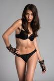 Black lingerie Royalty Free Stock Photo
