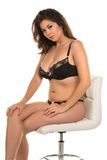Black lingerie Royalty Free Stock Photo