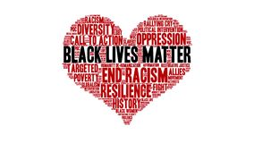 Black Lives Matter Animated Word Cloud