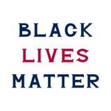 Black lives matter Royalty Free Stock Photos