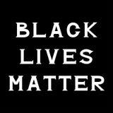 Black lives matter Stock Images
