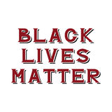 Black lives matter. Hand drawn lettering quote. Poster, card, , banner design. T shirt apparel clothing design. Vector illustration. Typography greeting card Royalty Free Stock Photography
