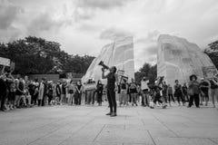 Black Lives Matter MLk Memorial
