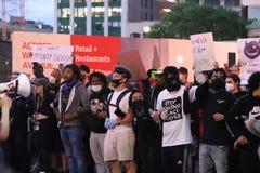 Black Lives Matter protest, downtown Detroit