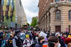 Black lives matter protest montreal