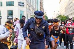 Black lives matter protest, Washington DC