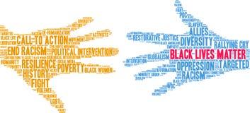 Free Black Lives Matter Word Cloud Stock Photo - 151646390