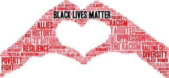 Free Black Lives Matter Word Cloud Royalty Free Stock Photos - 158980668