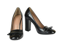 Black Loafer Shoes Royalty Free Stock Photo