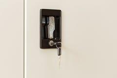 Black Locker key Royalty Free Stock Photo