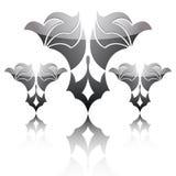 Black logo Stock Image