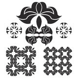Black logo Royalty Free Stock Photography