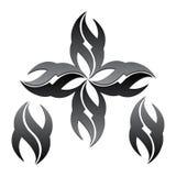 Black logo Royalty Free Stock Photo
