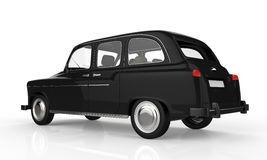 Black London Taxi Stock Photos