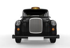 Black London Taxi Stock Image