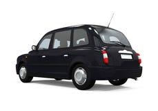 Black London Taxi Stock Photography