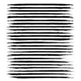 Black long abstract textured strokes Royalty Free Stock Photo