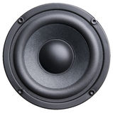 Black loudspeaker Stock Photos