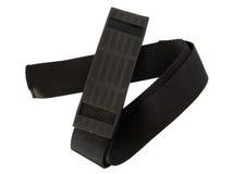 Black luggage belt Stock Image