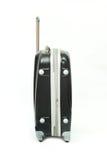 Black luggage isolated Royalty Free Stock Images