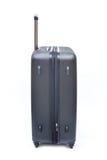 Black luggage isolated Royalty Free Stock Photography