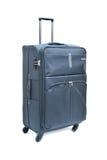 Black luggage isolated Stock Photography